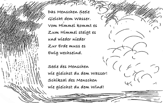 Gedicht Goethe