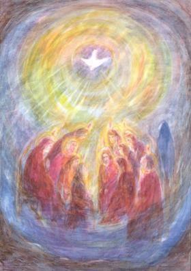 Indaling van de Heilige Geest